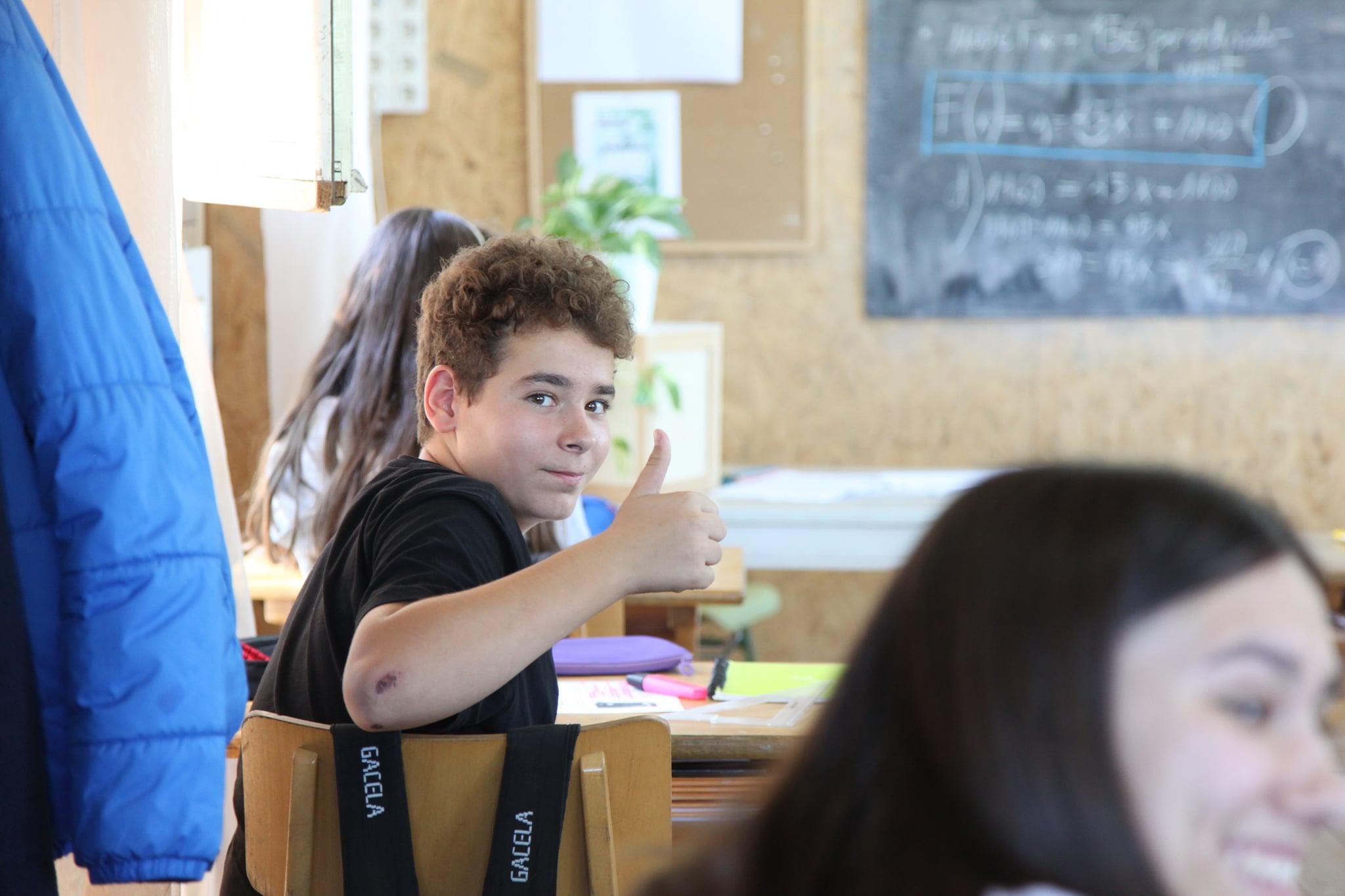 Tretzevents vist per un alumne